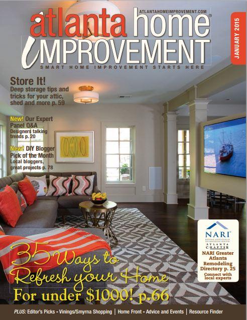 Atlanta Home Improvement – January 2015