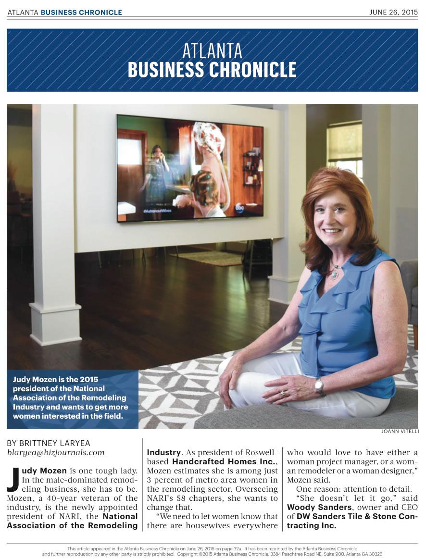 Atlanta Business Chronicle – June 2015