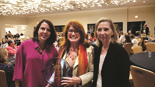 "Judy Mozen Awarded Women in Residential Construction ""Woman of the Year"" Award"