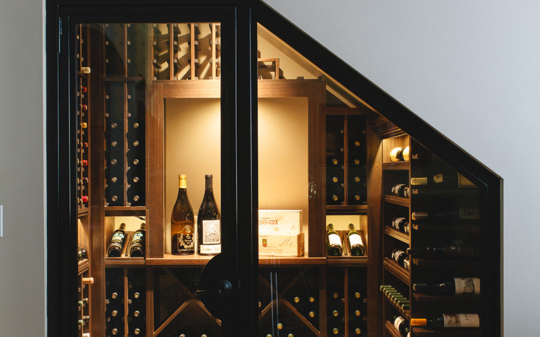 Wine Cellar Featured in ELLE Decor