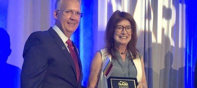Judy Mozen, President of Handcrafted Homes, Inc., Wins National NARI Award