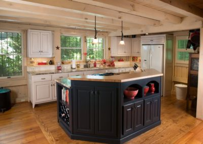 Post & Beam Kitchen